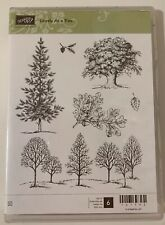 "STAMPIN' UP!  ""LOVELY AS A TREE"" STAMP SET"