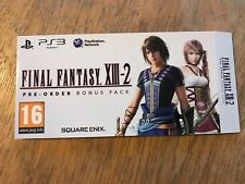 Final Fantasy 13-2 - PS3-Steelbook-manches-Neuf