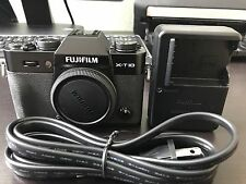 Fujifilm X Series X-T10 16.3MP Digital Camera - Black (Body Only)