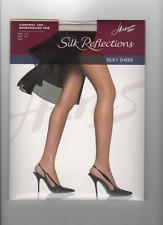 Hanes Silk Reflections silky sheer control top PEARL color 718 size AB NIP