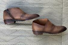 Tan leather Veracruz ankle boots
