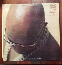 ISAAC HAYES Hot Buttered Soul LP ENTERPRISE ENS-1001 Orig US 1969 SOUL FUNK 1stp