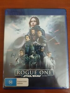 ROGUE ONE 3D BLU RAY - BRAND NEW NOT SEALED A STAR WARS STORY FREE POST