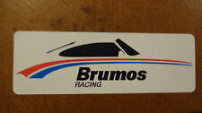 Brumos Porsche Racing Sticker Decal Hurley Haywood 911 914 356 Rally