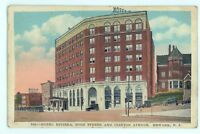 Hotel Riviera, High St and Clinton Ave NEWARK NJ Vintage New Jersey Postcard