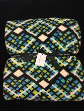 "New Vera Bradley Soft Fleece Throw Blanket Rain Forest NWT 80"" x 50"""