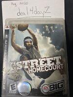 NBA Street Homecourt Sony PlayStation 3 CIB MINT DISC CLEAN CASE FAST SHIP