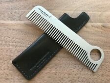 Chicago Comb No. 1 + Dublin Black Horween leather sheath, Made in USA, save $11