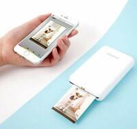 Polaroid ZIP Wireless Mobile Photo Mini Printer (White) iOS & Android ready