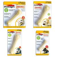 Petstages Chick-A-Bone Dog Toy Nylon Bone Chew Chicken Flavour Durable