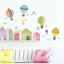 Decowall Hot Air Balloons Animals Kids Removable Wall Stickers Decal DS-8020
