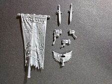 Warhammer 40k Blood Angels Sanguinary Guard Banner / Accessories Bits