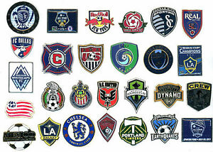 Soccer Pins Choice: U.S., Mexico, All-Star Game, MLS Cup Champs, Miami, Various