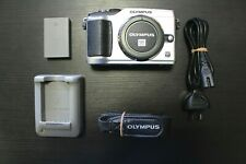 Olympus Pen E-PL2 Mirrorless Micro 4/3 Digital Camera Body Only, Silver