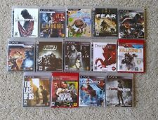PS3 Video Games LOT -11 games