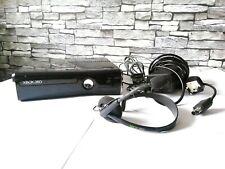 Microsoft Xbox 360 Slim 250 GB Black Console + x3 Controllers + Headset PAL