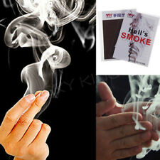 1X close-up magic change gimmick finger smoke hell's smoke fantasy trick prop TE