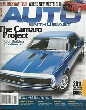 Auto Enthusiast magazine The Camaro project Hemi highway tour Car show Mustang