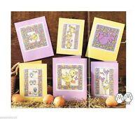 HAPPY BIRDY CARDS     -     CROSS STITCH  PATTERN  2E5T