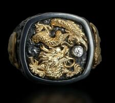 """GALATEA: MEN'S """"RISING DRAGON"""" RING FROM THE CAPITAN COLLECTION"""