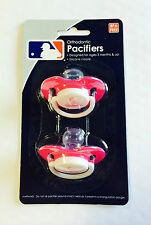 St. Louis Cardinals PINK Baby Infant Pacifiers NEW 2 Pack SHOWER GIFT! girls