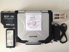Only 620 hrs! PANASONIC CF-30 TOUGHBOOK MK3 1.6GHZ 4GB RAM 500GB HD LAPTOP #73