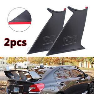 2x For Subaru Impreza WRX STi Tail Rear Wing Stiffi Spoiler Stabilizer Racing