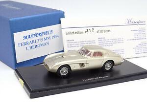 Masterpiece Autocult 1/43 - Ferrari 375 MM 1954 Bergman