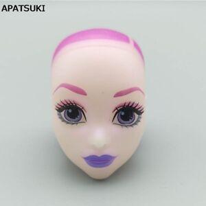 Soft Bald Doll Head For Monster High Doll Head BJD Doll's Monster Head Kids Toy