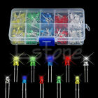 New 300Pcs 3mm 5mm LED Light White Yellow Red Blue Green Assortment Diodes Kit