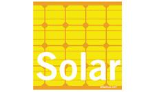 SOLAR Power Magnet Bumper Sticker Indoor Outdoor energy electricity GO alternati