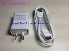Genuine Original Samsung Galaxy Note 3 S5 Wall Charger Adapter + USB 3.0 Cable