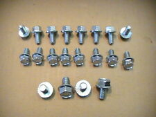 351-C, 351-M, 400 - Ford - Factory Steel and or Chrome Oil Pan Bolt Kit