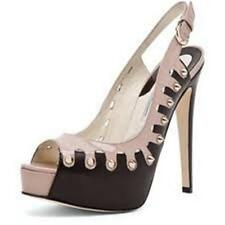 Brian Atwood NEELA Studded Platform Slingback Pump Heels Shoes Sandals 39.5 $883