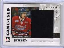 MICHAEL DEL ZOTTO 07/08 ITG Jersey Heroes Prospects Rookie RC Rangers GUJ-22