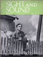 SS47-16-61 SIGHT AND SOUND 1947 Luciano Emmer MEN WITHOUT WINGS UK MAGAZINE
