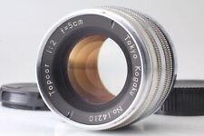 [Near Mint] TOKYO KOGAKU Topcor 5cm 50mm f/2 L39 Leica Screw LTM from JAPAN 0777