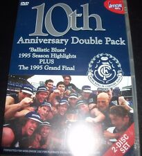 10th Anniversary Carlton Blues Official AFL (Australia Region 4) DVD – New