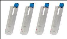 4 x Toner für OKI C5600 C5600N C5700 C5700N C5700dn - SUPER XXL Cartridges