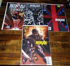 Valiant Comics NINJAK Lot 1-11 with Variants Movie Vol.3 (2015)