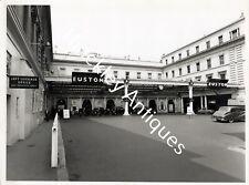 More details for original photograph euston railway station main entrance 1957 british railways