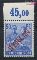 Berlin (West) 30 postfrisch 1949 Rotaufdruck (8894218