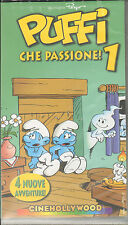 Puffi Che Passione 1 - 4 Nuove Avventure VHS - Peyo