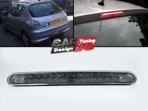 Peugeot 206 2D 5D Smoked Lens Red LED Rear 3rd Third Brake Lamp Light Stop Lamp