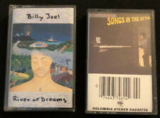 Lot Of 2 Billy Joel Cassette Tapes - River Of Dreams, Songs In The Attic
