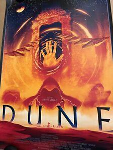 Dune (Variant) by Matt Griffin Art Print David Lynch Movie Poster x/100