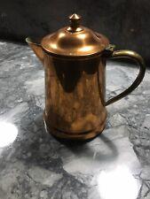 New listing Portuguese Copper Coffee Pot