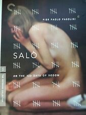 SALO,OR 120 DAYS OF SODOM-DVD-80PAGE BOOKLET-2 DISC-CRITERION COLLECTION