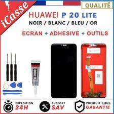 ECRAN LCD HUAWEI P20 LITE ANE-LX1 / NOVA 3E - NOIR / BLANC / OR + OUTILS + COLLE