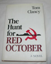 The Hunt for Red October by Tom Clancy 1984 Hardcover, Anniversary USA